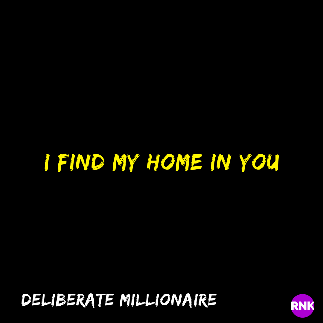 I Find My Home In You