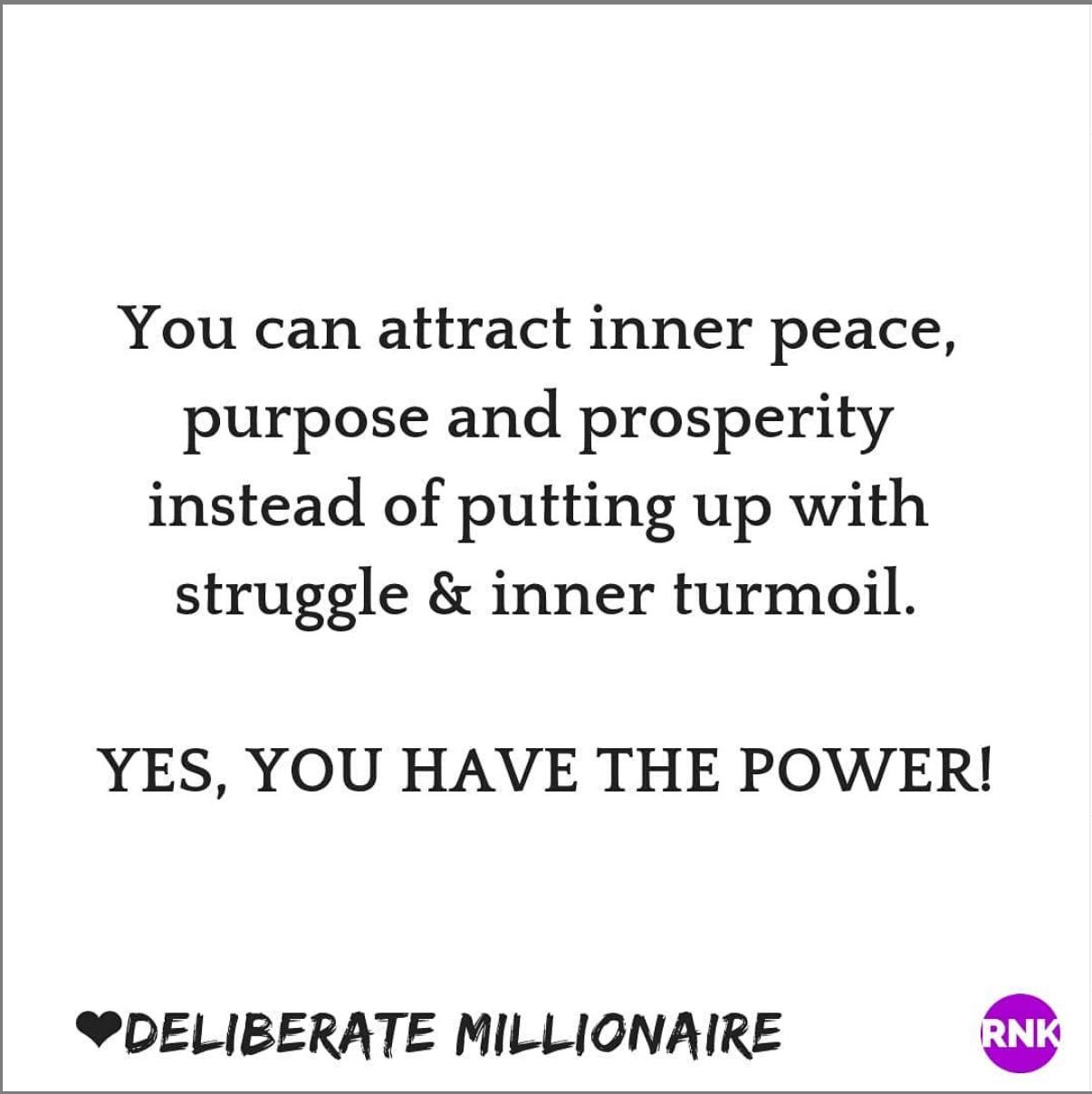 Why Do You Choose Struggle & Inner Turmoil Over Inner Peace, Purpose & Prosperity?