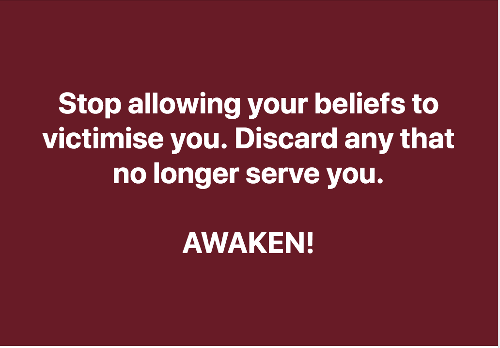 Your Beliefs Are your Choice