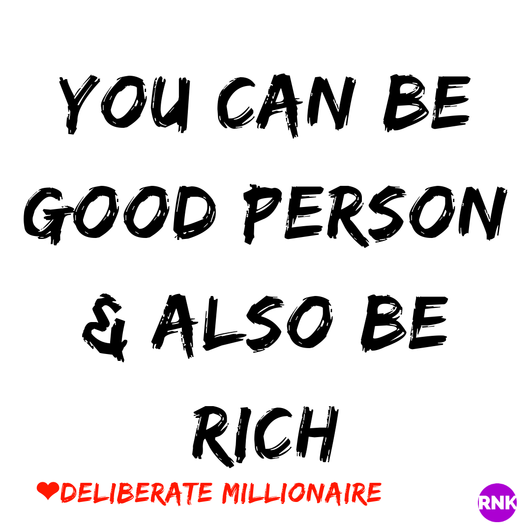 You Can Be Whoever You Want To Be & Still Be Rich