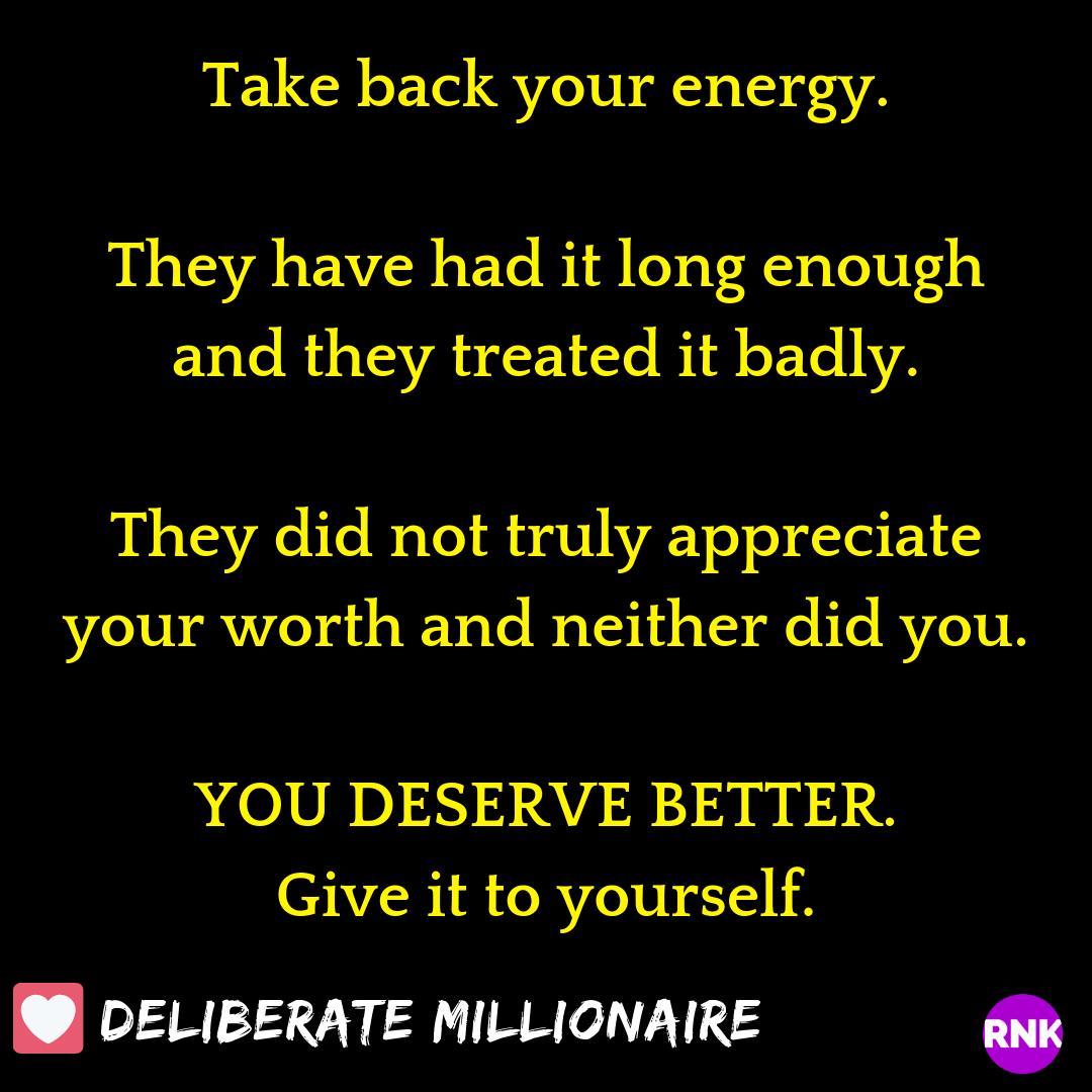 You Deserve Better – CLAIM IT!