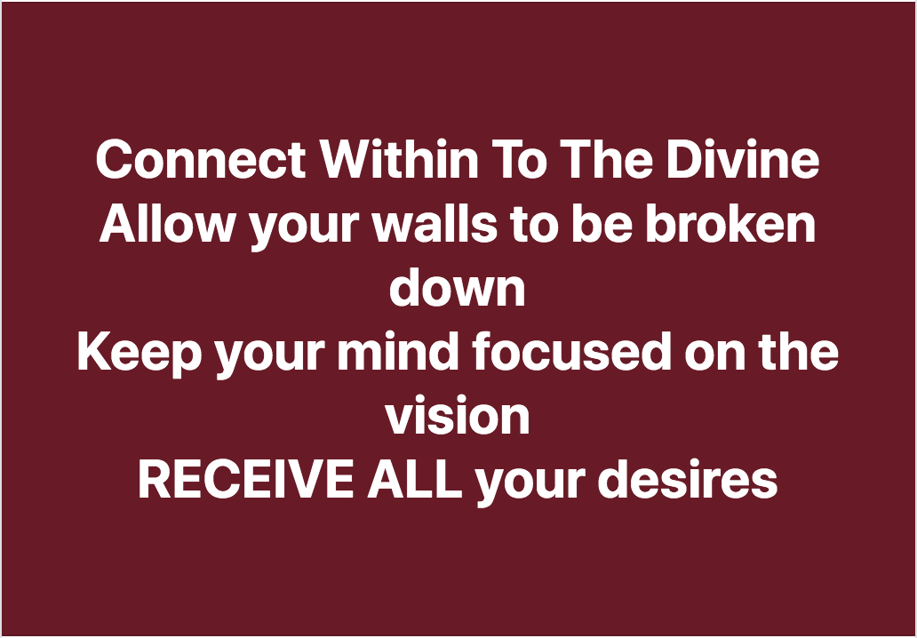 Delight Yourself In The Power Within You
