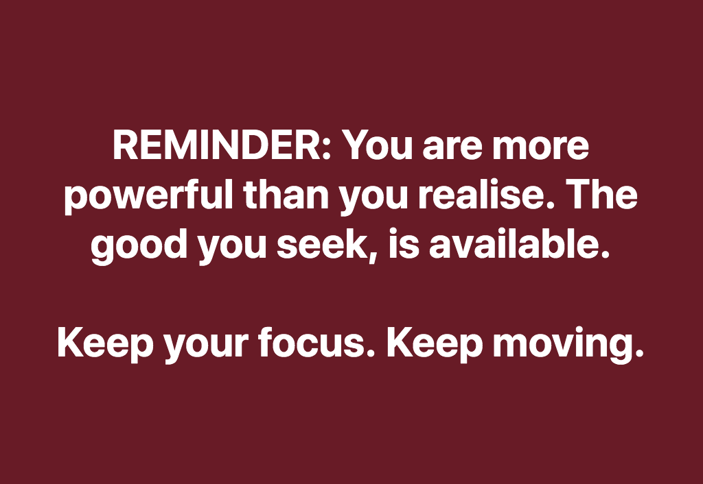 You Are More Powerful Than You Realise