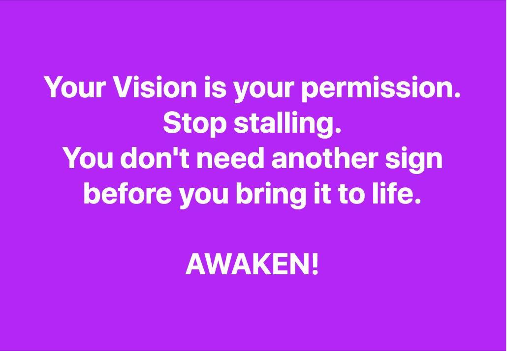 Stop Stalling.