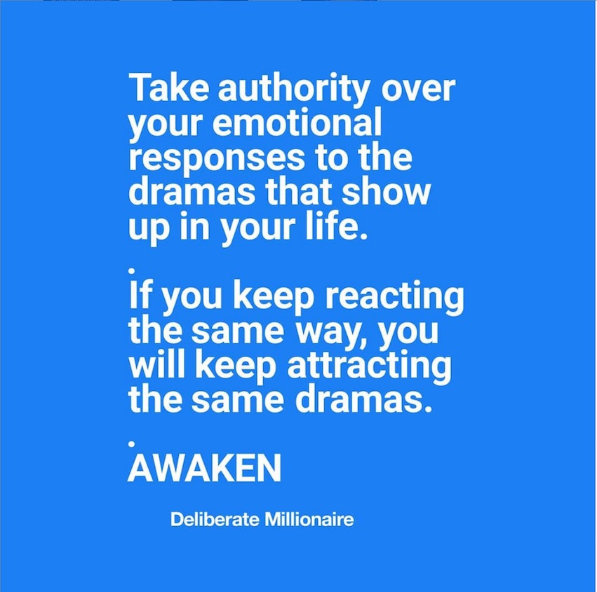Take authority over your emotional responses