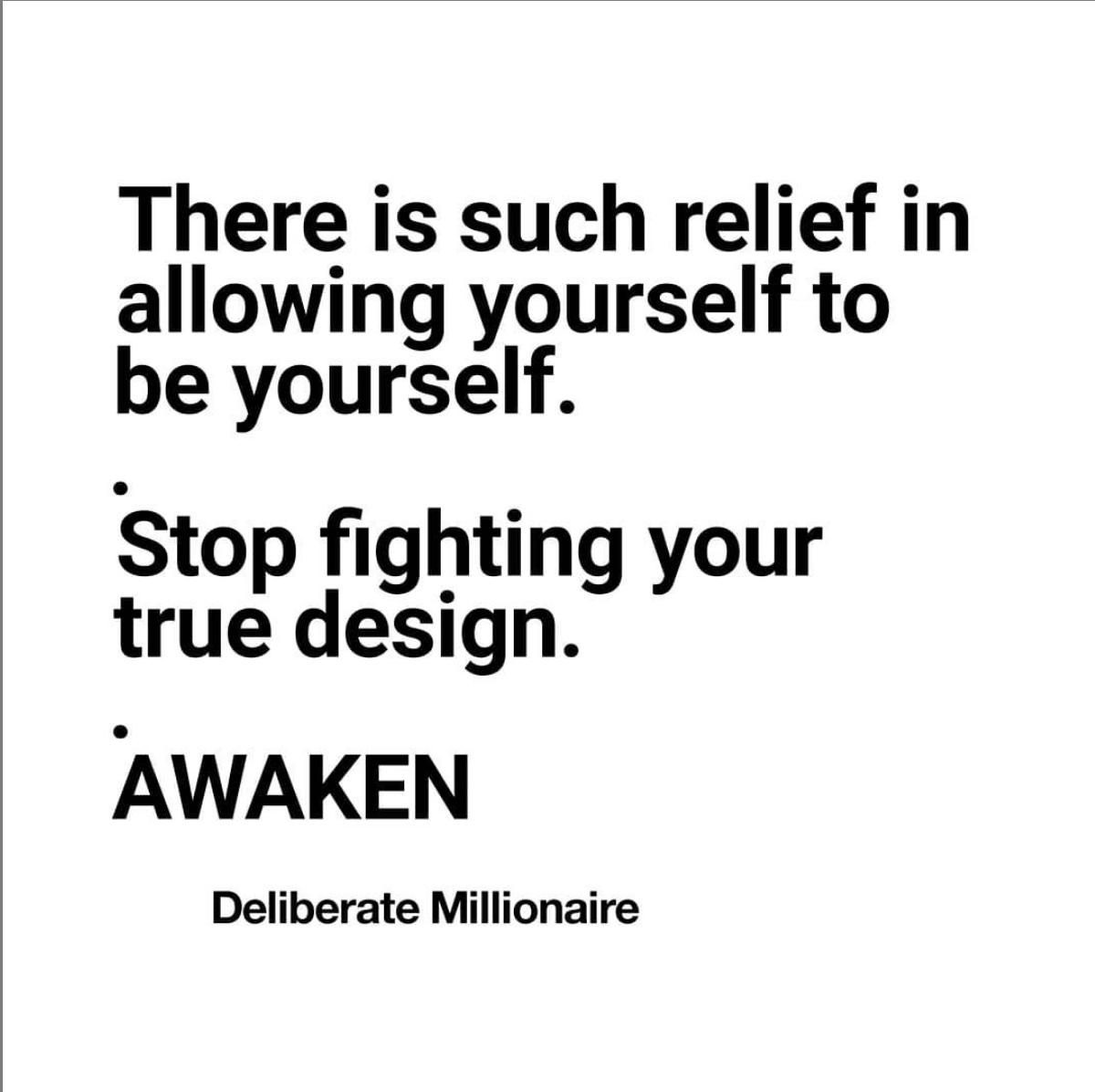 Stop fighting your true design