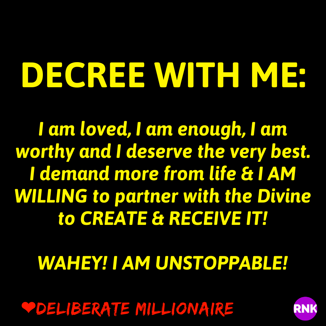 Demand More From Life & Receive It!