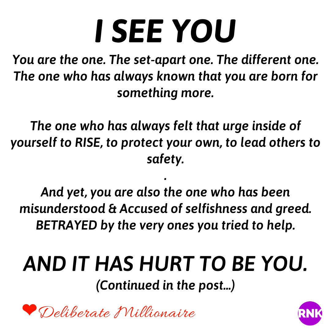 YOU ARE THE ONE & I SEE YOU