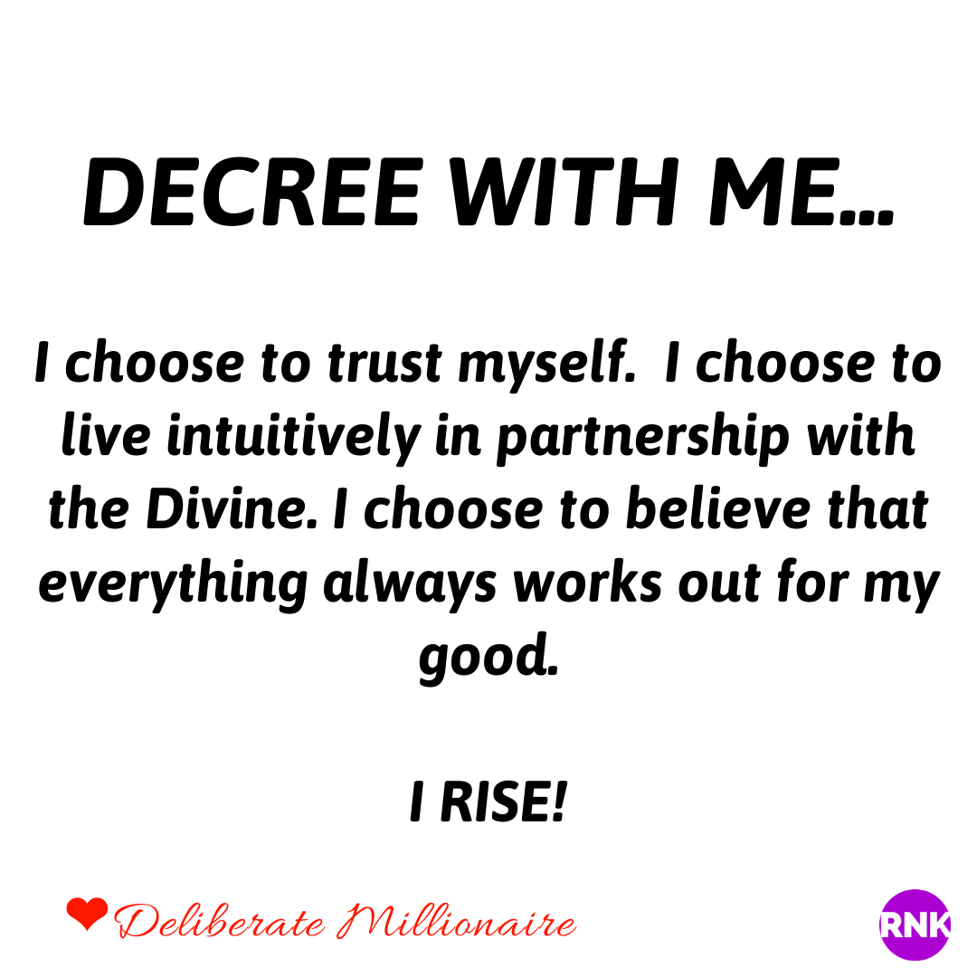 You Always Get To Choose Either Fear/Mistrust Or Your Intuitive Leadings