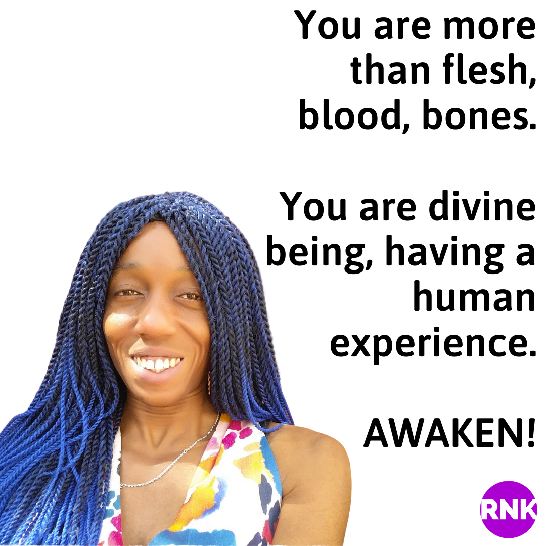 You Are More Than Flesh, Blood, Bones