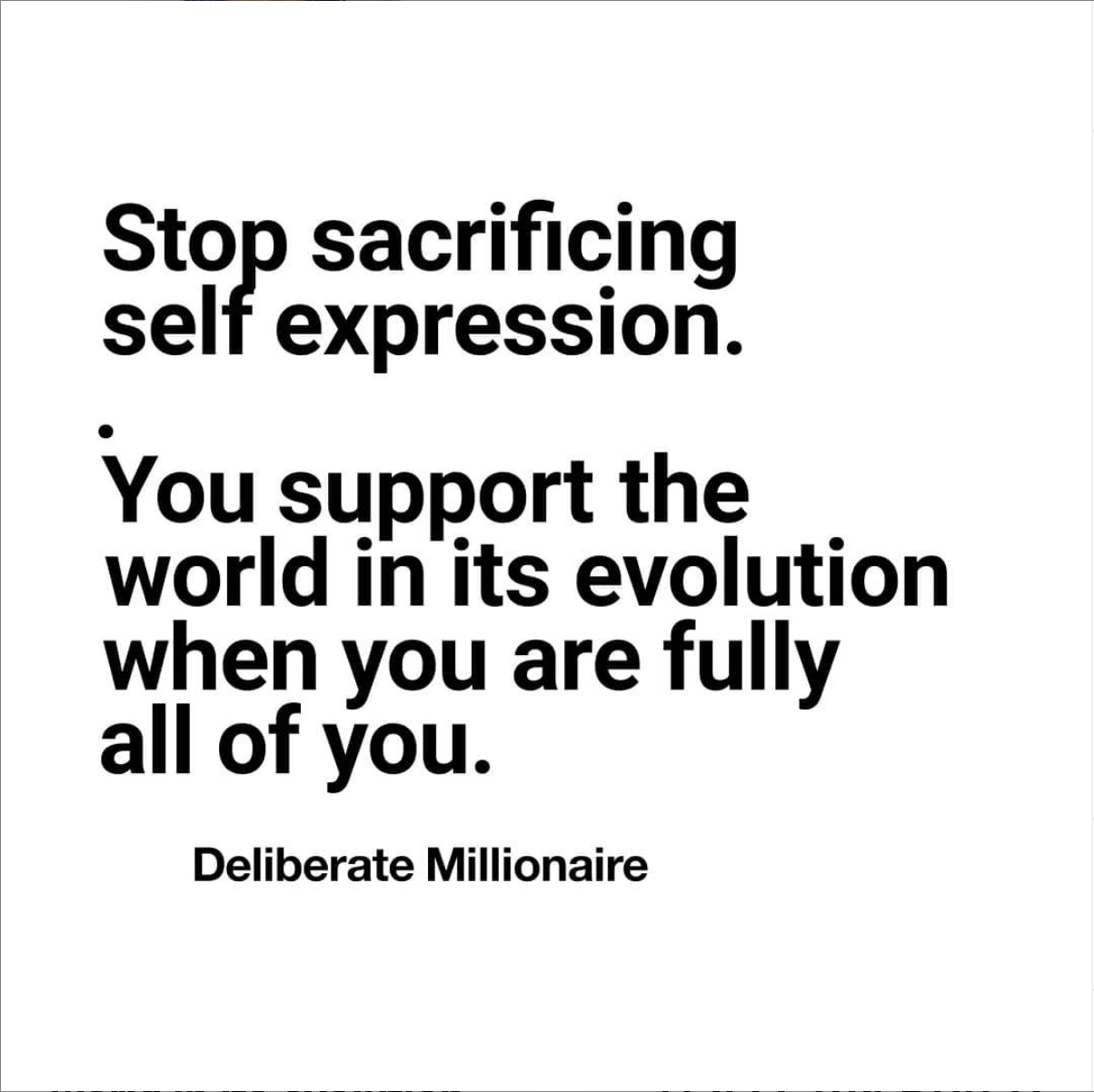 Stop Sacrificing Your Full Self-Expression