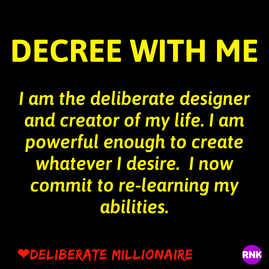 You Can, Very Deliberately, Design The Life You Desire