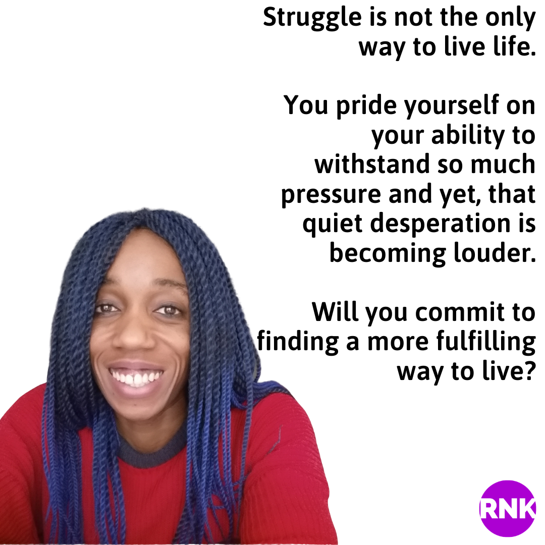 I Know You Are Tired Of The Struggle