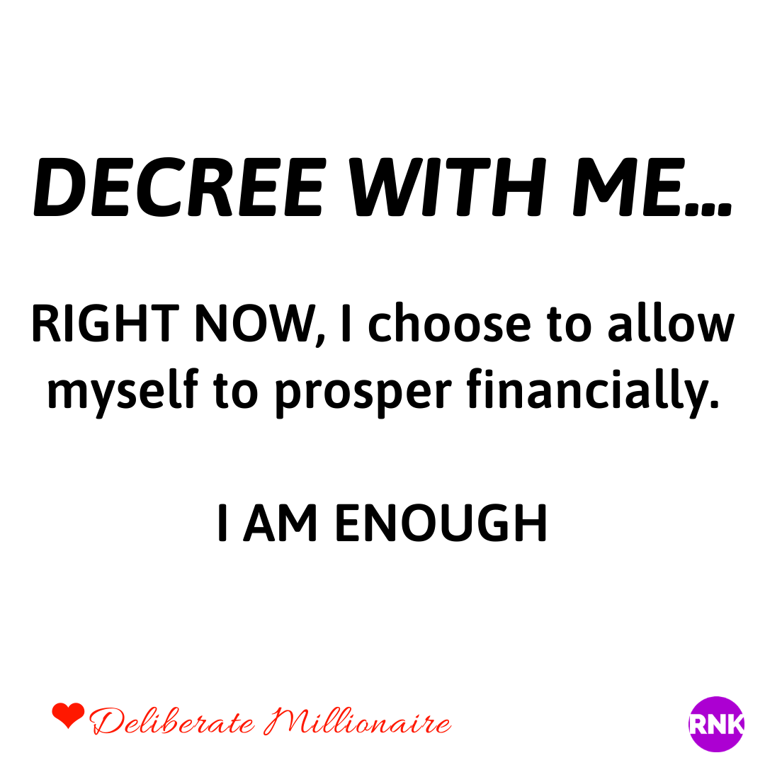 Your Financial Prosperity Is Not Dependent On Your Perfection