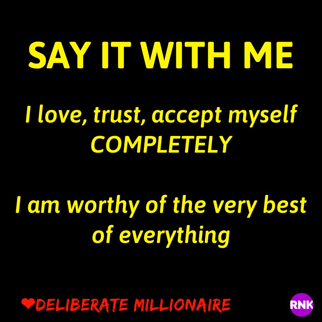 I Trust & Believe In You