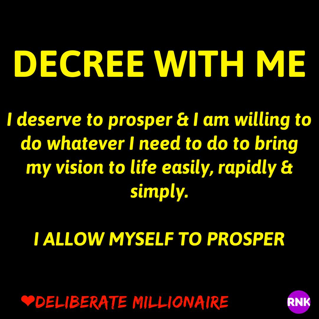 You Deserve To Prosper