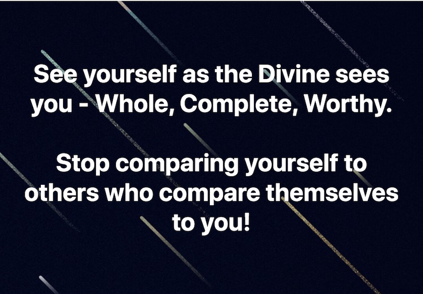 You Are Whole. Complete. Worthy