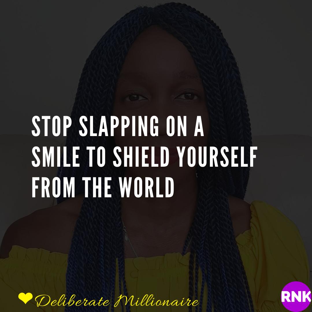 You Slap On A Smile