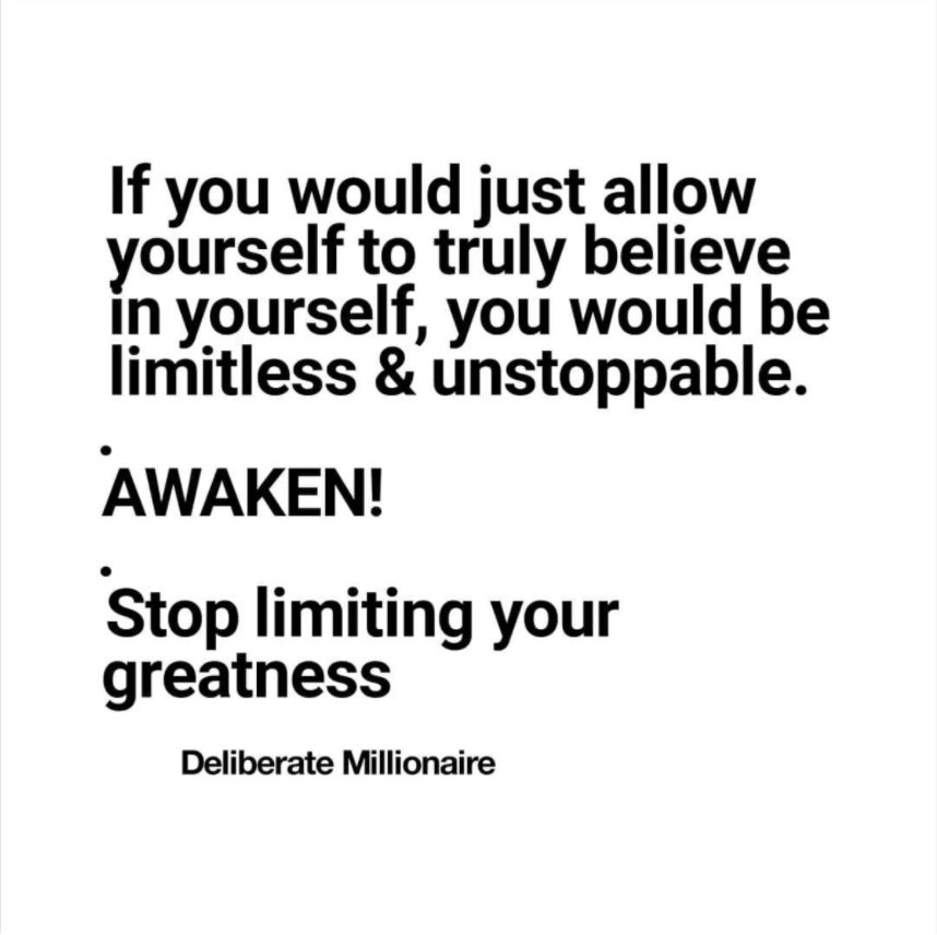 Stop Limiting Your Greatness