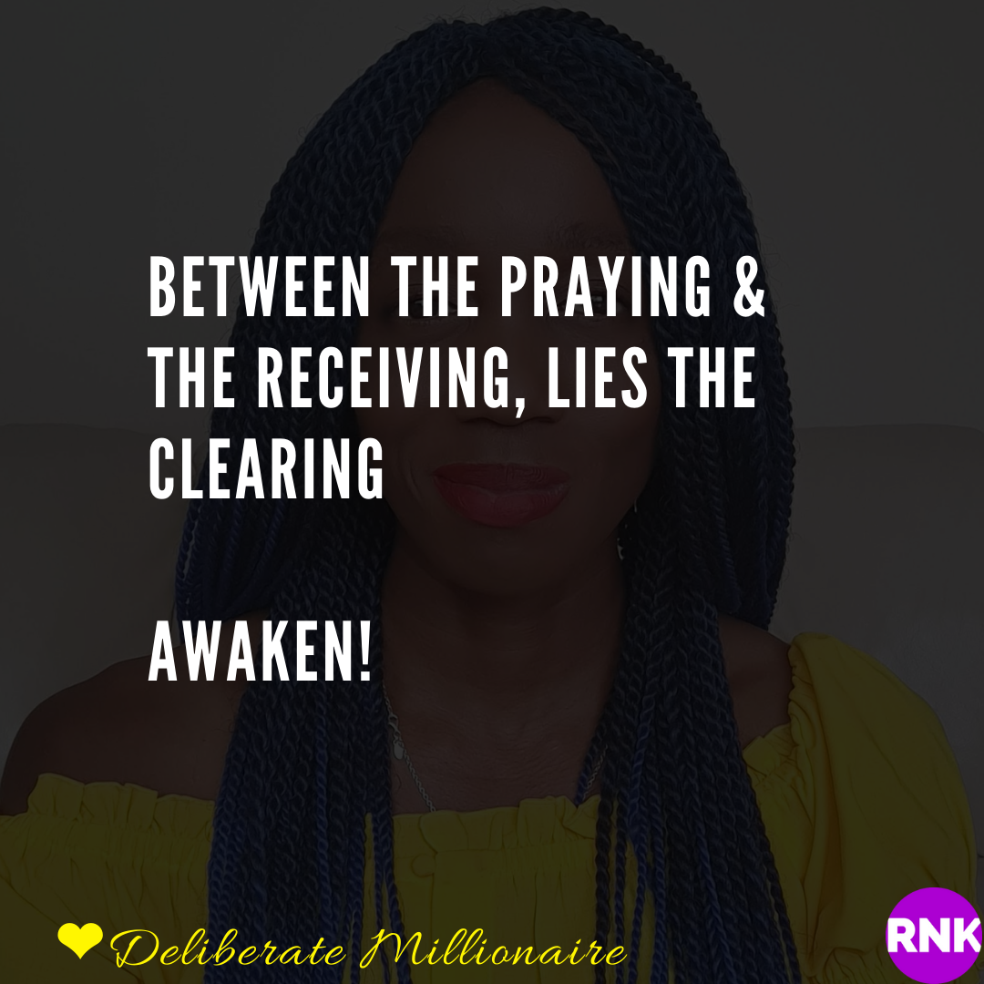 Between The Praying & The Receiving, Lies The Clearing