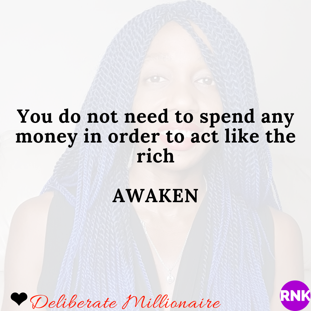 You Do Not Need To Spend Money To Act Like The Rich